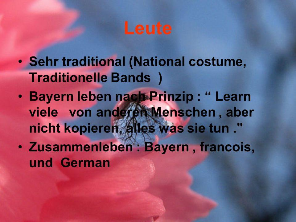 Leute Sehr traditional (National costume, Traditionelle Bands ) Bayern leben nach Prinzip : Learn viele von anderen Menschen, aber nicht kopieren, all