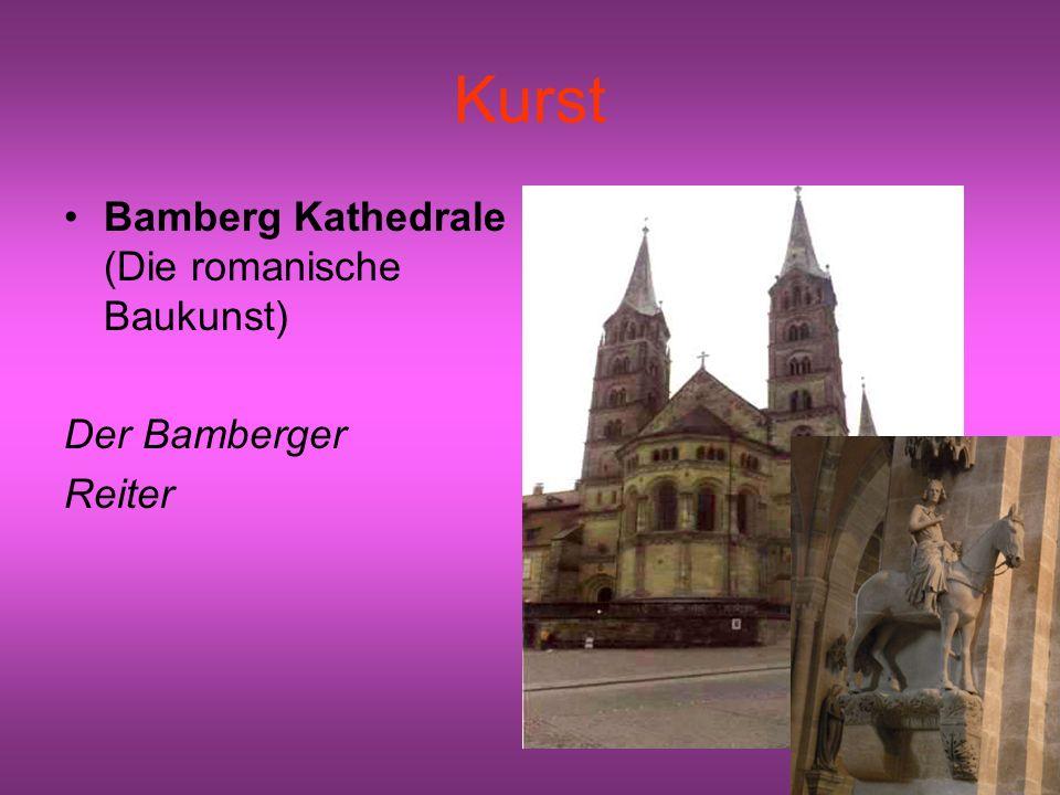 Kurst Bamberg Kathedrale (Die romanische Baukunst) Der Bamberger Reiter
