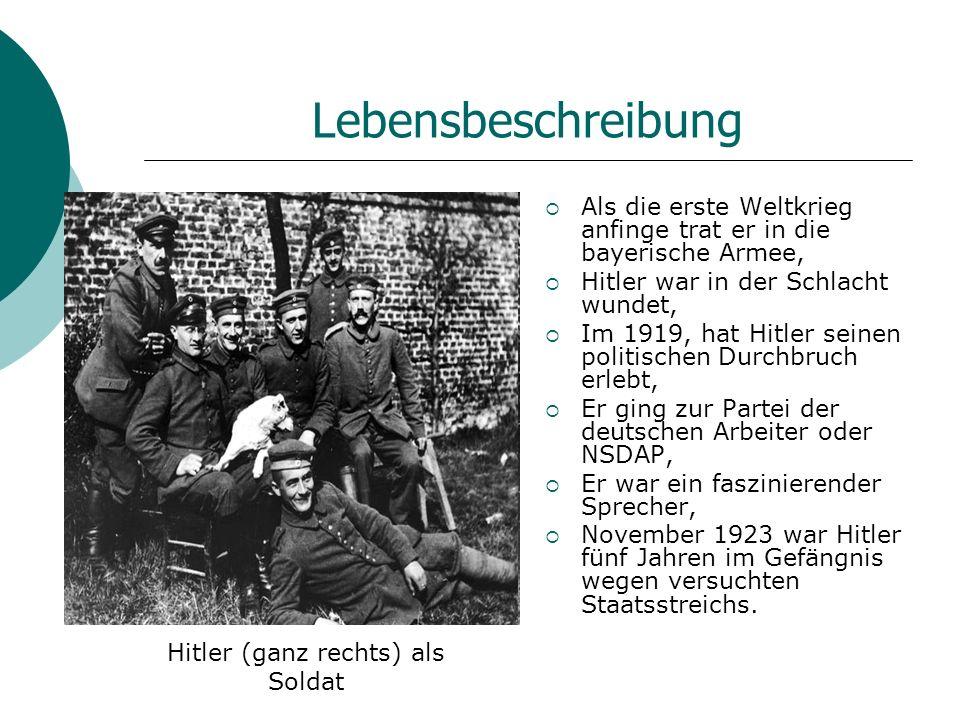 Lebensbeschreibung Im Jahre 1932 hat die Präsidentschaftswahlen gegeben, Nach dem Niederlage, sah Hitler selbst in der Rolle des Kanzlers zu sehen, 30.