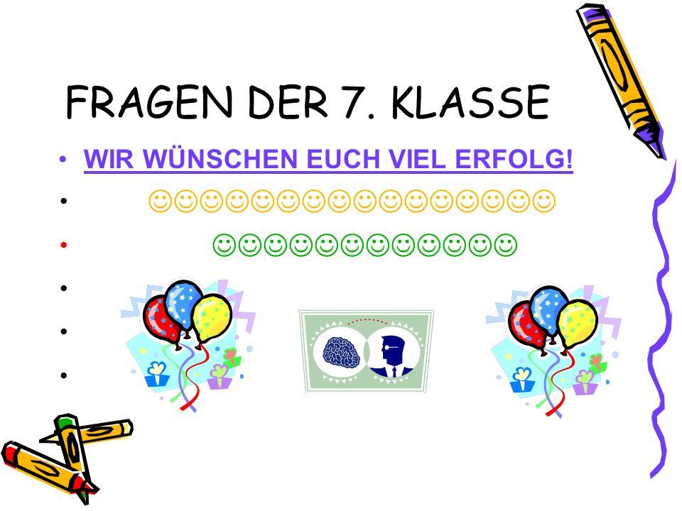 FRAGE 1 1- Bilde ein Satz. kommen/Kerstin und Petra/Woher