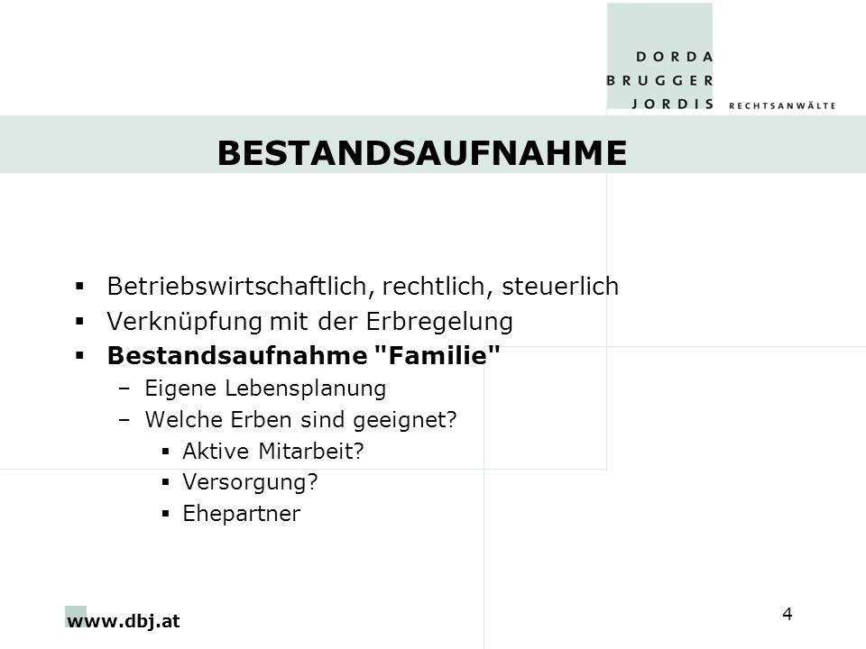 www.dbj.at 15 Danke für Ihre Aufmerksamkeit! DORDA BRUGGER JORDIS Rechtsanwälte, Wien