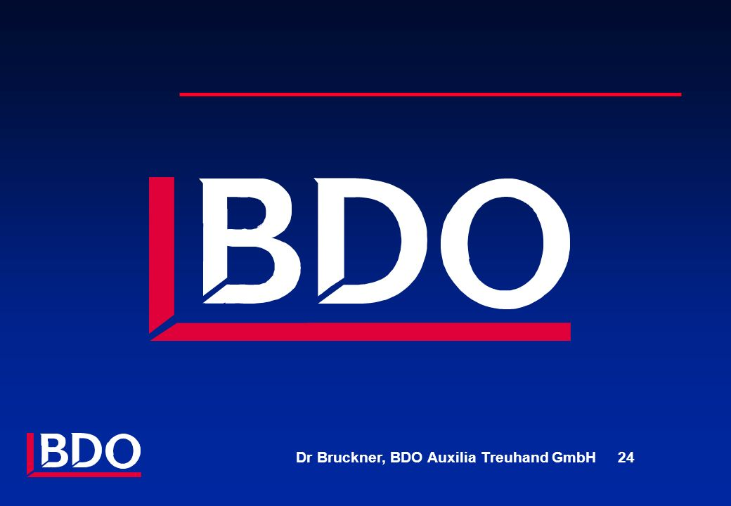 Dr Bruckner, BDO Auxilia Treuhand GmbH 24