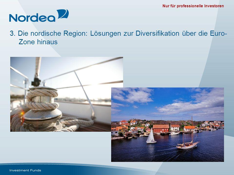 Nur für professionelle Investoren 3. Die nordische Region: Lösungen zur Diversifikation über die Euro- Zone hinaus