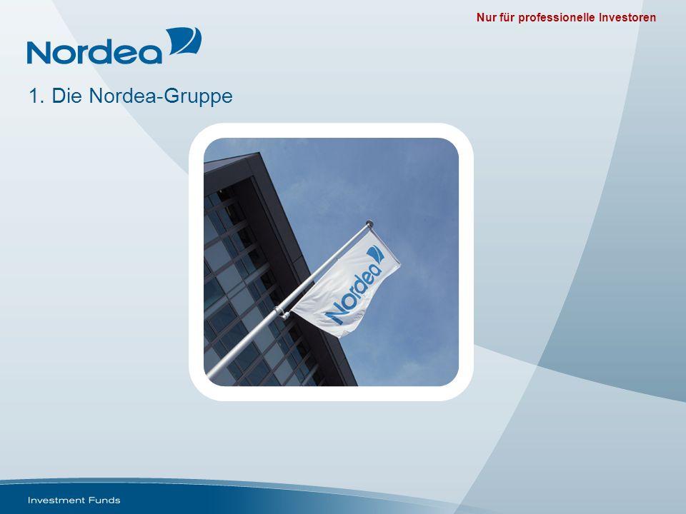 Nur für professionelle Investoren 1. Die Nordea-Gruppe