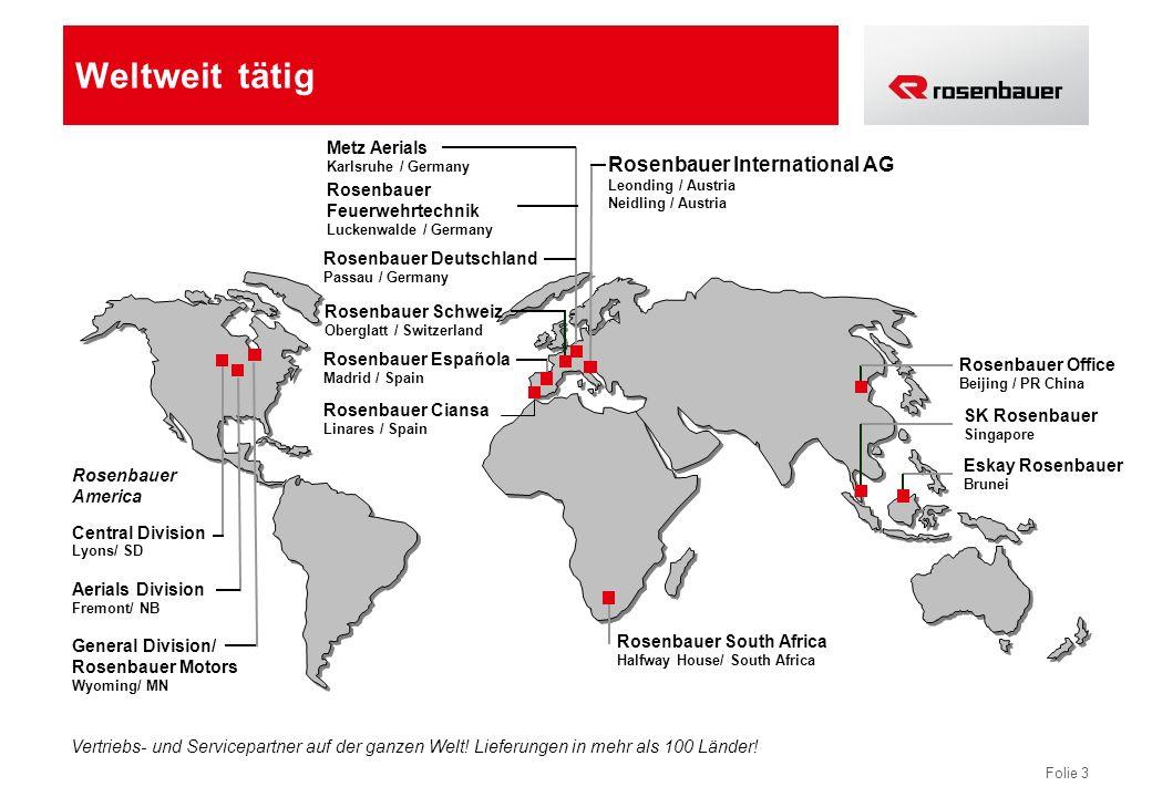 Folie 14 Entwicklung der Rosenbauer Aktie Coverage: RCB, Cheuvreux, UniCredit Nachhaltige, aktionärsfreundliche Dividendenpolitik Stabile Kursentwicklung