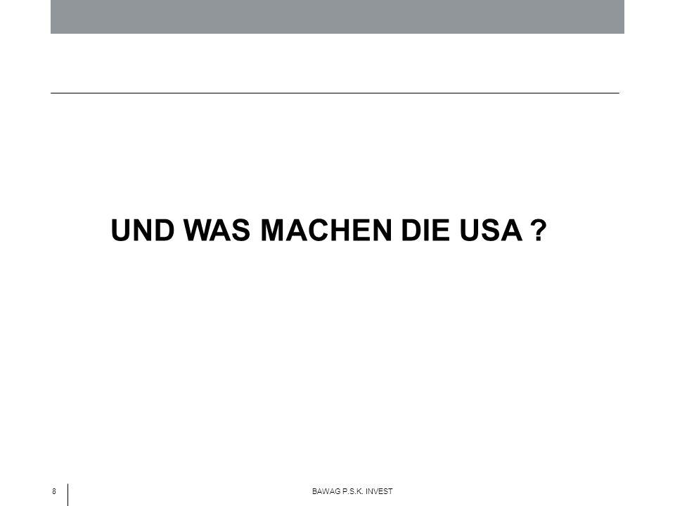 8 BAWAG P.S.K. INVEST UND WAS MACHEN DIE USA ?