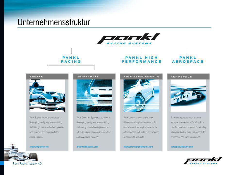 Pankl Racing Systems AG Unternehmensstruktur