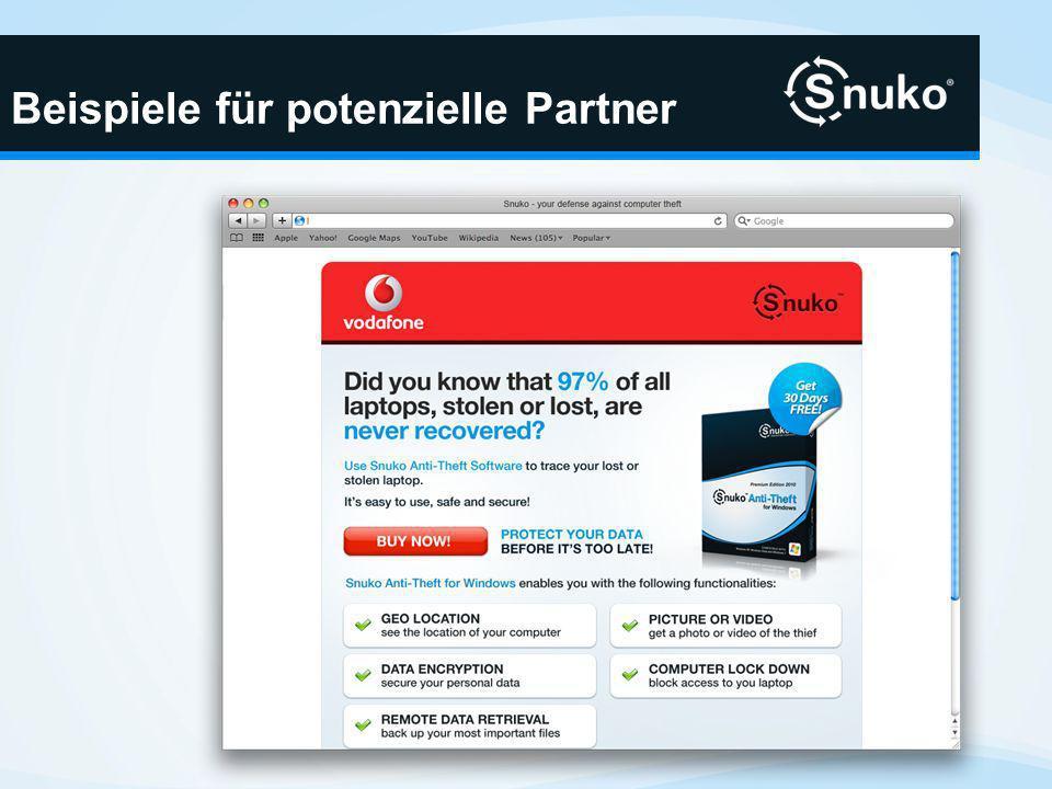 Beispiele für potenzielle Partner