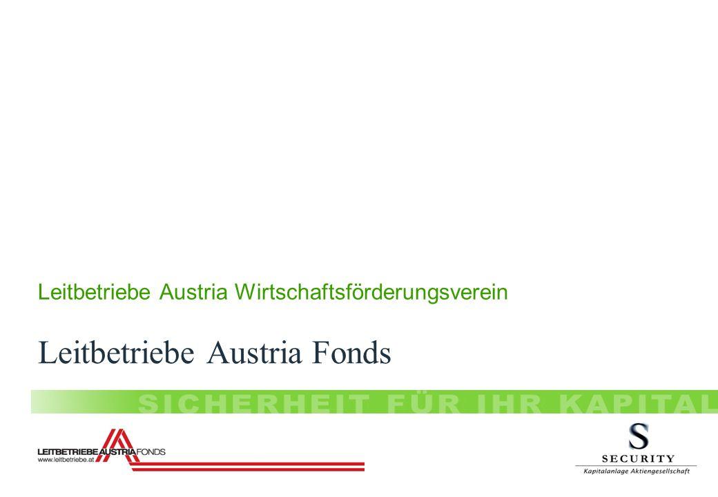 Leitbetriebe Austria Fonds Leitbetriebe Austria Wirtschaftsförderungsverein