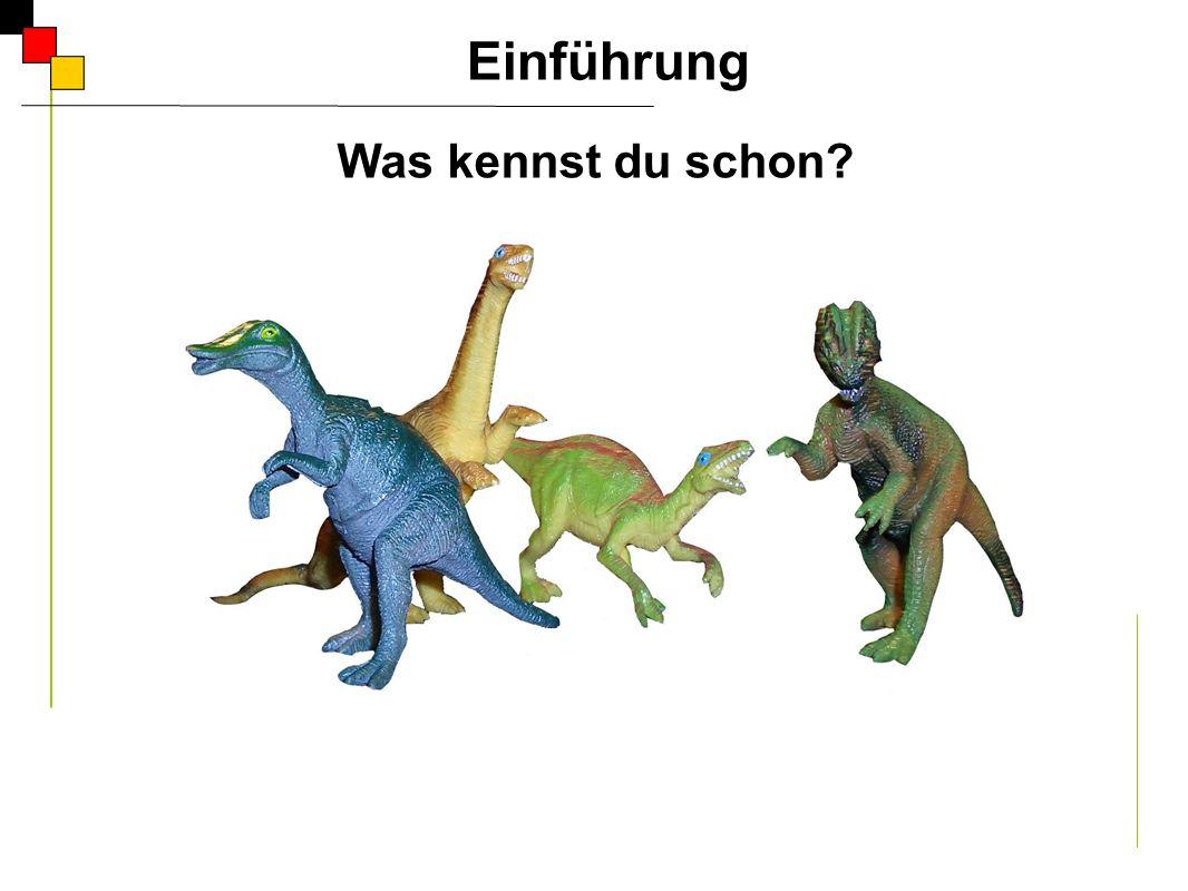 Das ist der große Tyrannusaurus.Der Tyrannusaurus ist groß.