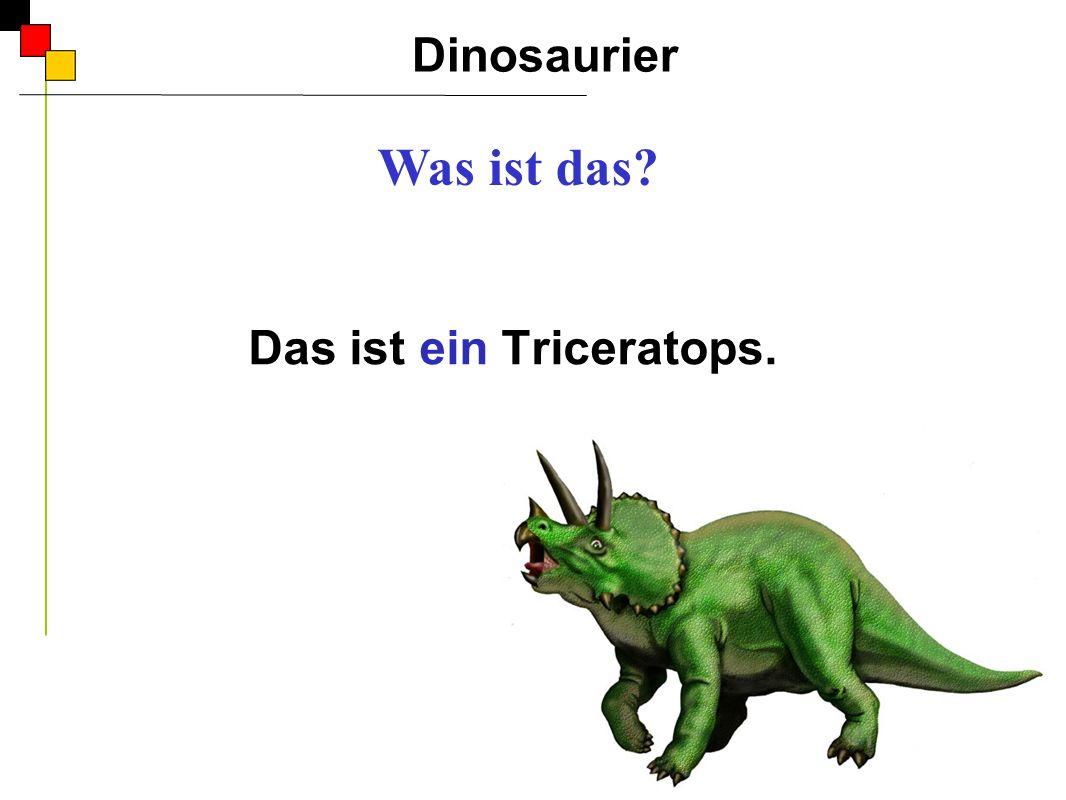 Dinosaurier A Dinosaurier spielen draußen. Er