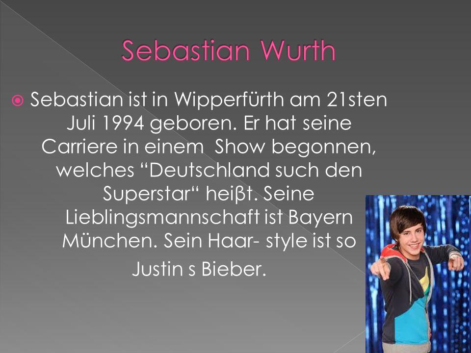 Stefan ist am 20.Oktober in Köln geboren. Er ist ein Sänger von Deutschland.