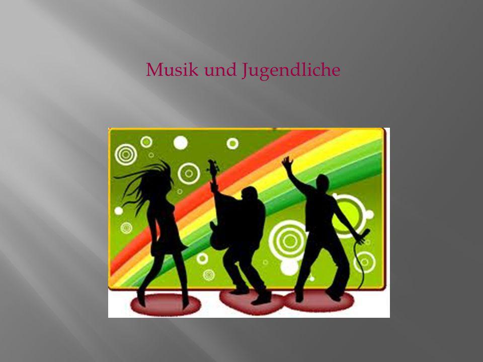Musik und Jugendliche
