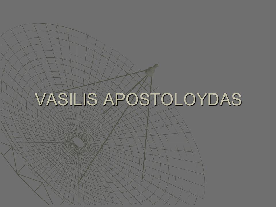 VASILIS APOSTOLOYDAS
