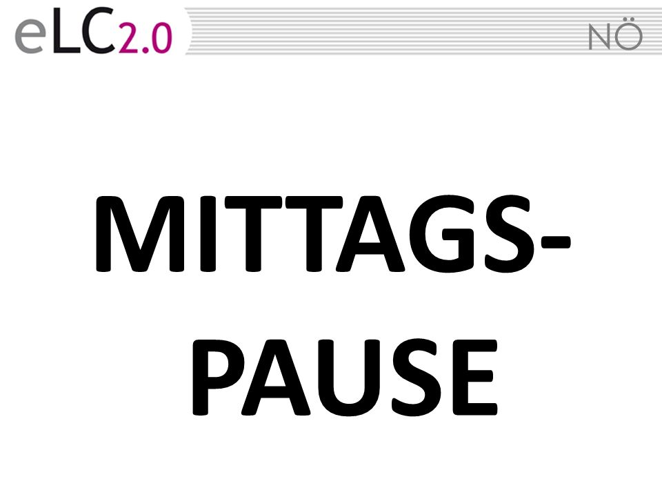 NÖ MITTAGS- PAUSE