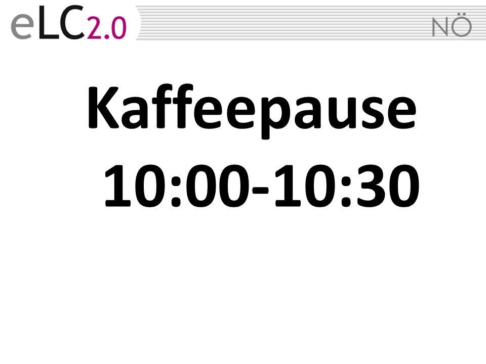 NÖ Kaffeepause 10:00-10:30