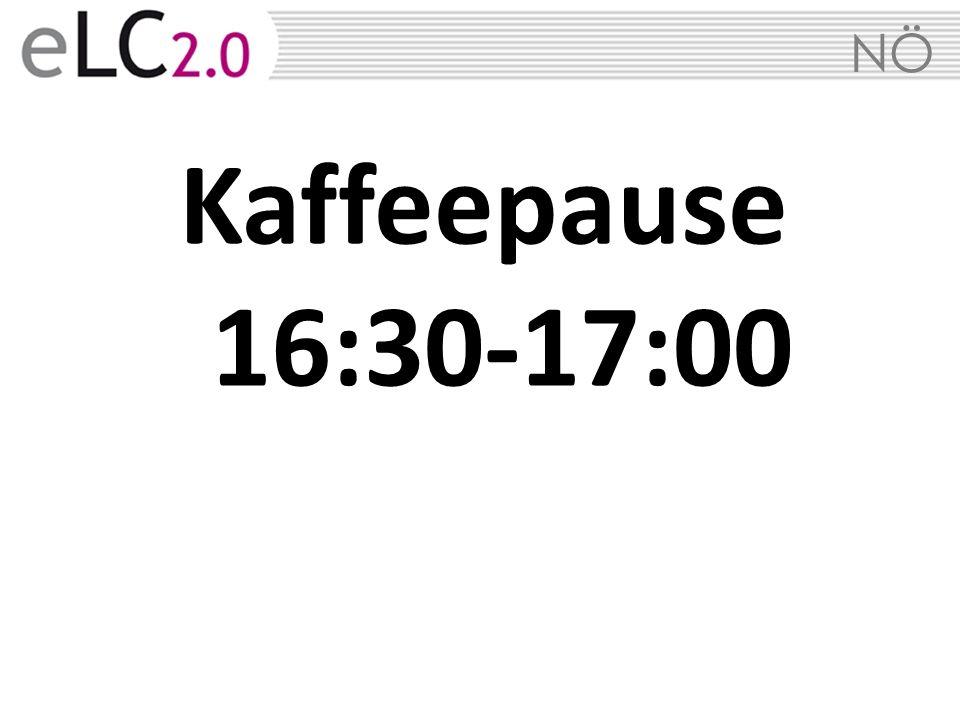 NÖ Kaffeepause 16:30-17:00