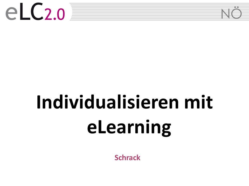 8 8 e-Individualisierung im Rahmen der Initiative 25 plus INDIVIDUALISIERUNG I nd i v i d u a l is i e r u n g ist immer und überall möglich