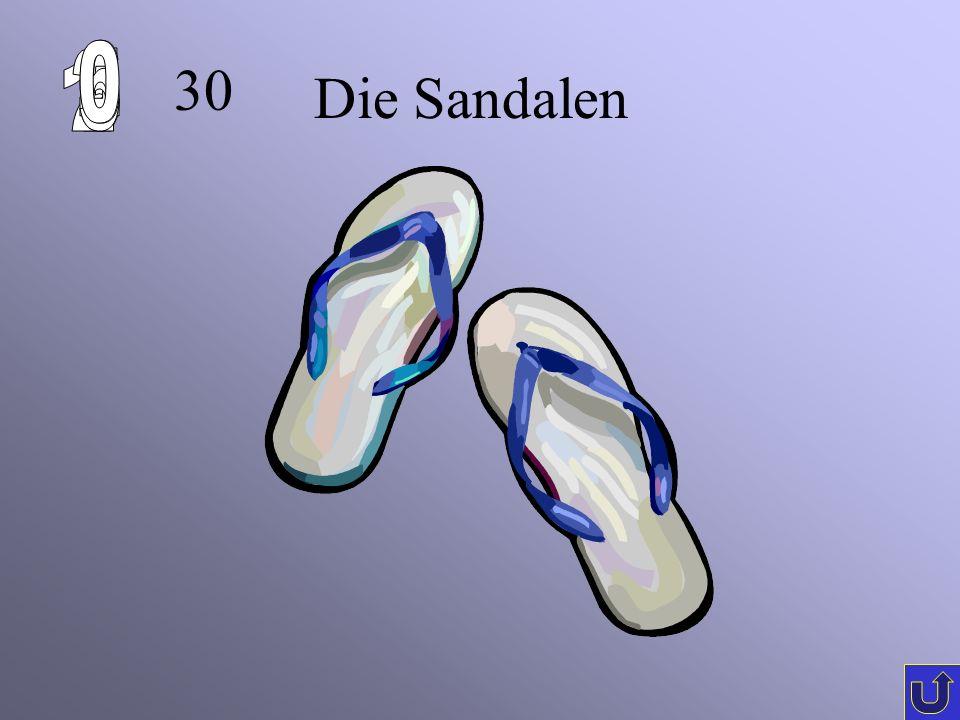 20 Die Socken