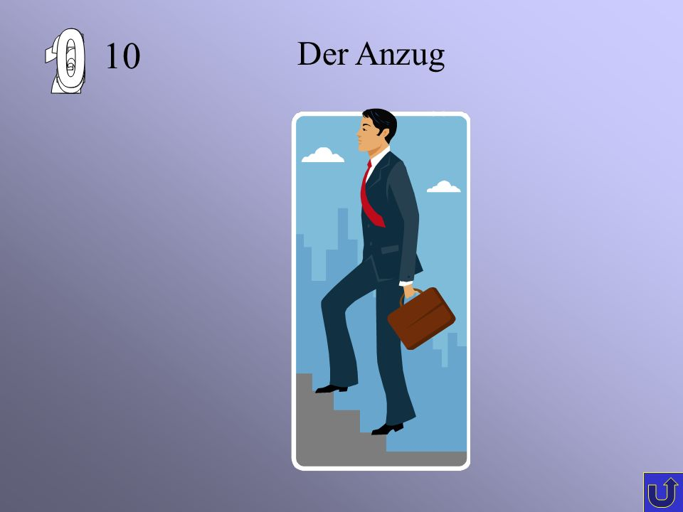 C-1 10 Der Anzug