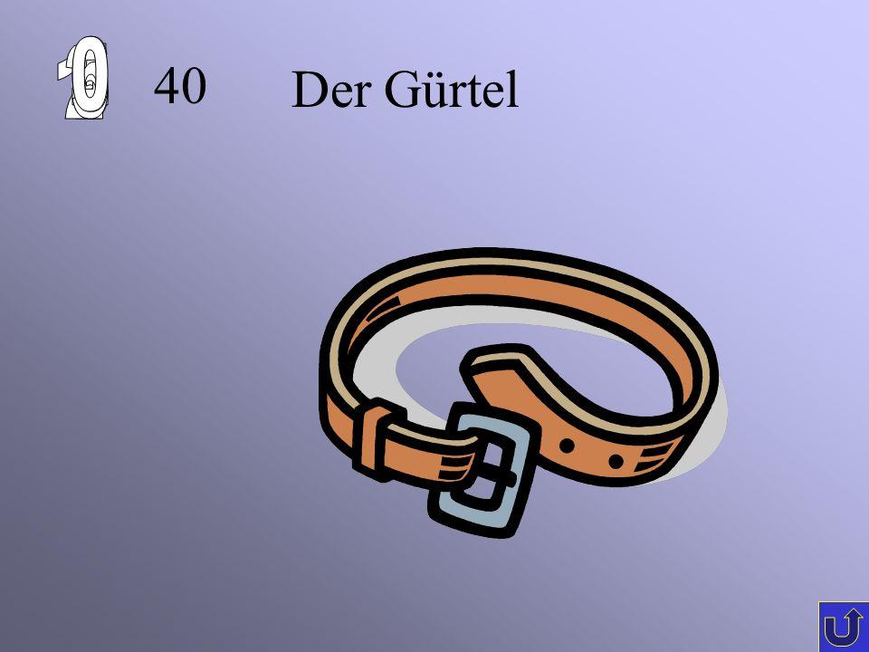 30 Der Hut