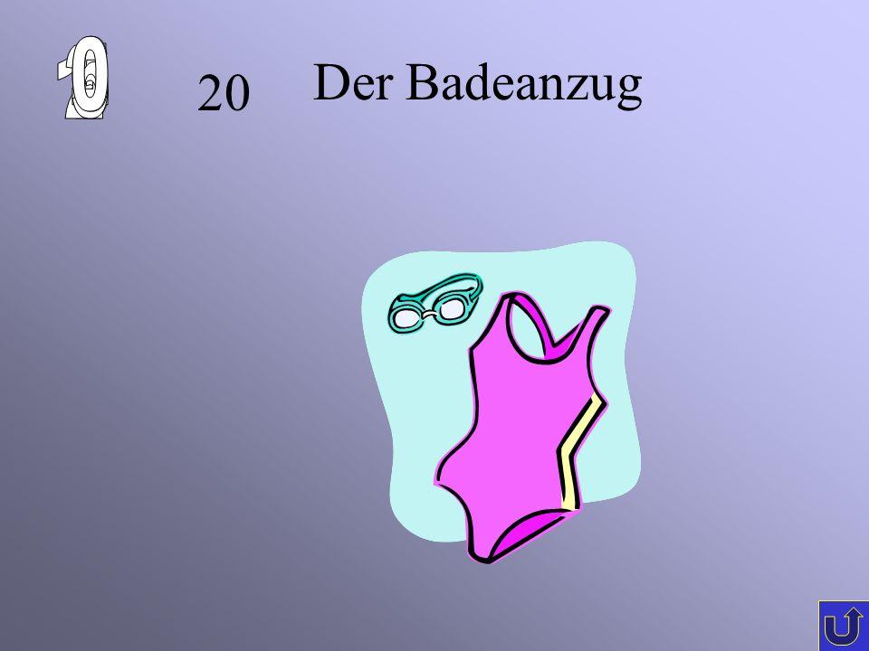 20 Der Badeanzug
