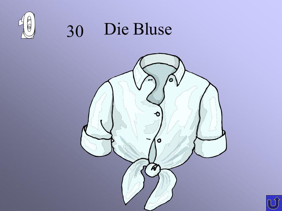 30 Die Bluse
