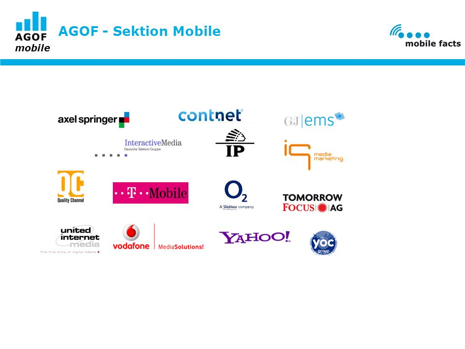 AGOF - Sektion Mobile