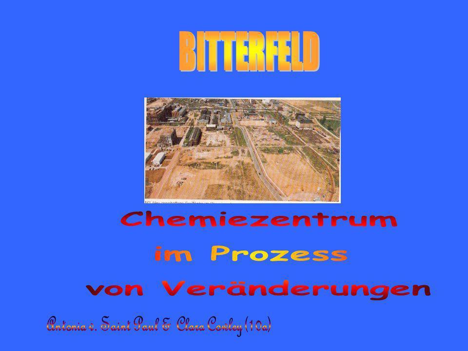 Verbesserungen & Verschlechterungen im Raum Bitterfeld in den Jahren 1990 bis 1993 VerbesserungenVerschlechterungen Die Luft- und Abwasserverschmutzung sinkt.