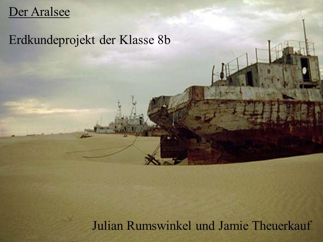 Der Aralsee Erdkundeprojekt der Klasse 8b Julian Rumswinkel und Jamie Theuerkauf