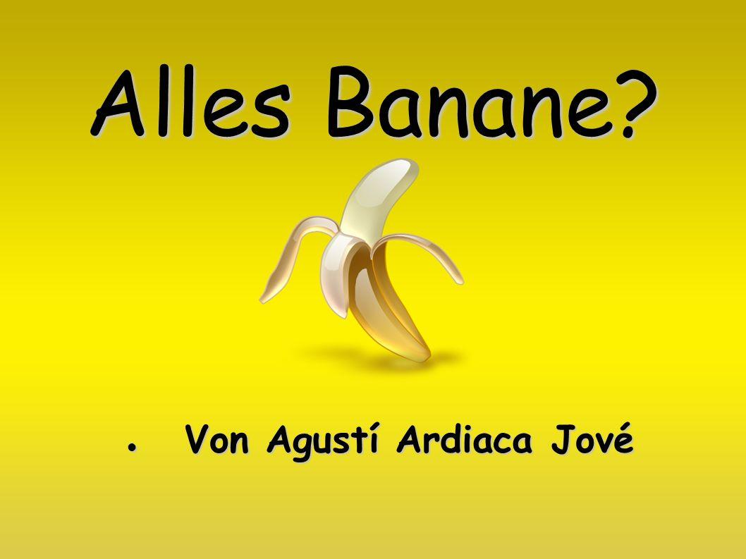 Alles Banane? Von Agustí Ardiaca Jové Von Agustí Ardiaca Jové