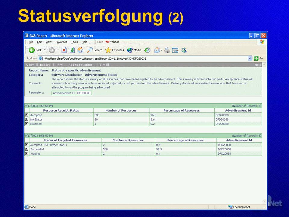 Statusverfolgung (2)