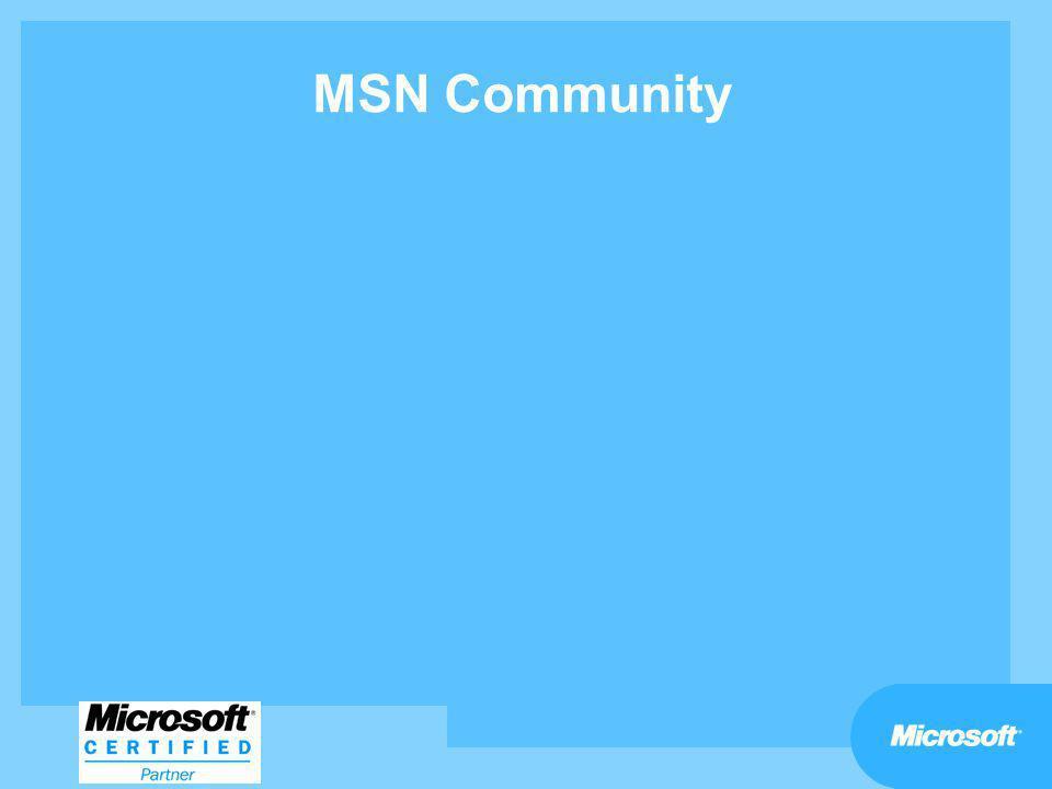 MSN Community