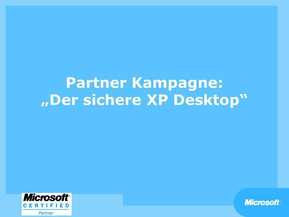 Partner Kampagne: Der sichere XP Desktop
