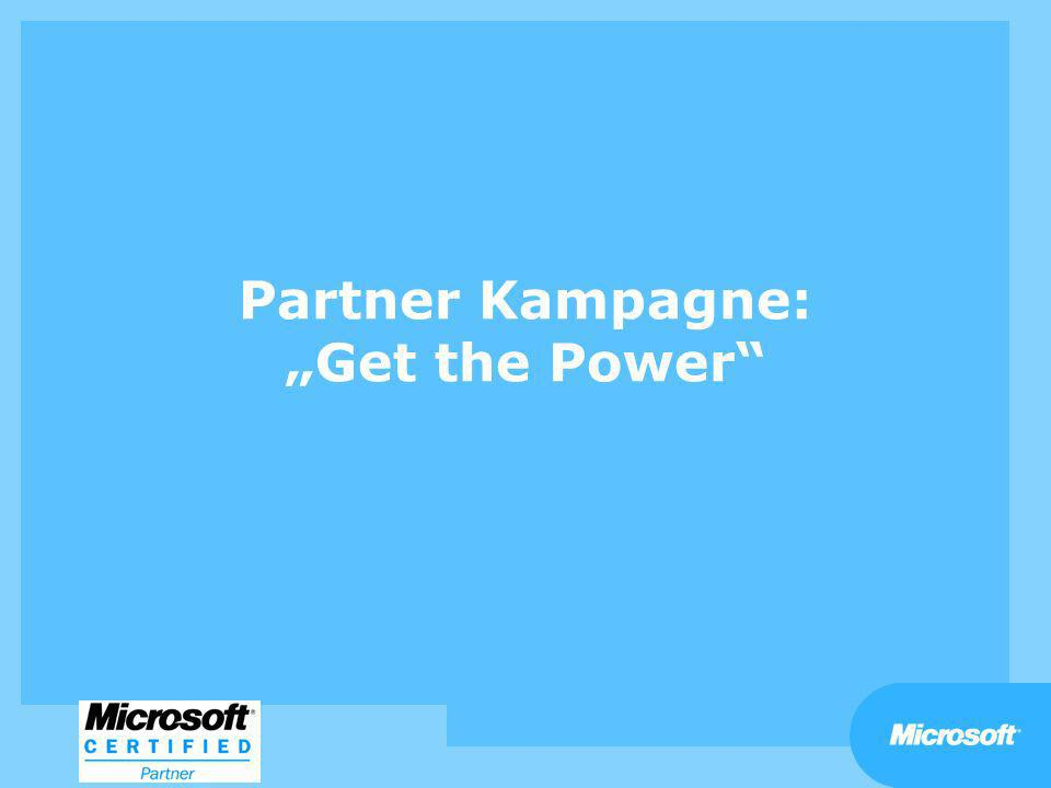 Partner Kampagne: Get the Power