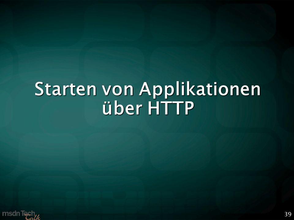 39 Starten von Applikationen über HTTP