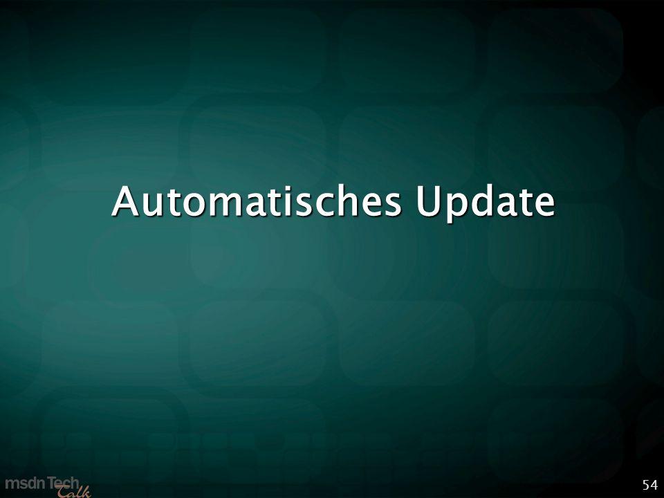 54 Automatisches Update