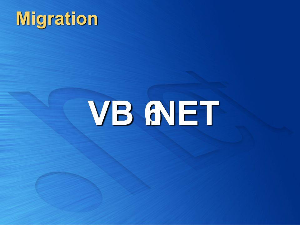 Migration VB 6 VB.NET