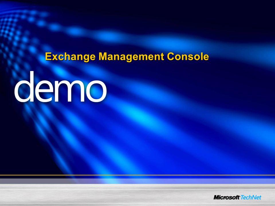 Exchange Management Console