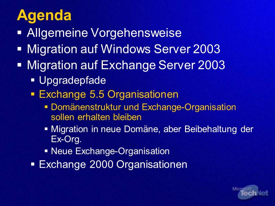 Szenario: 1 NT 4 PDC, 1 Ex 5.5 Svr Zweiten Server mit neuer Technologie in gleiche Domäne stellen, diesen einfach zum Domänencontroller machen? NT 4 P