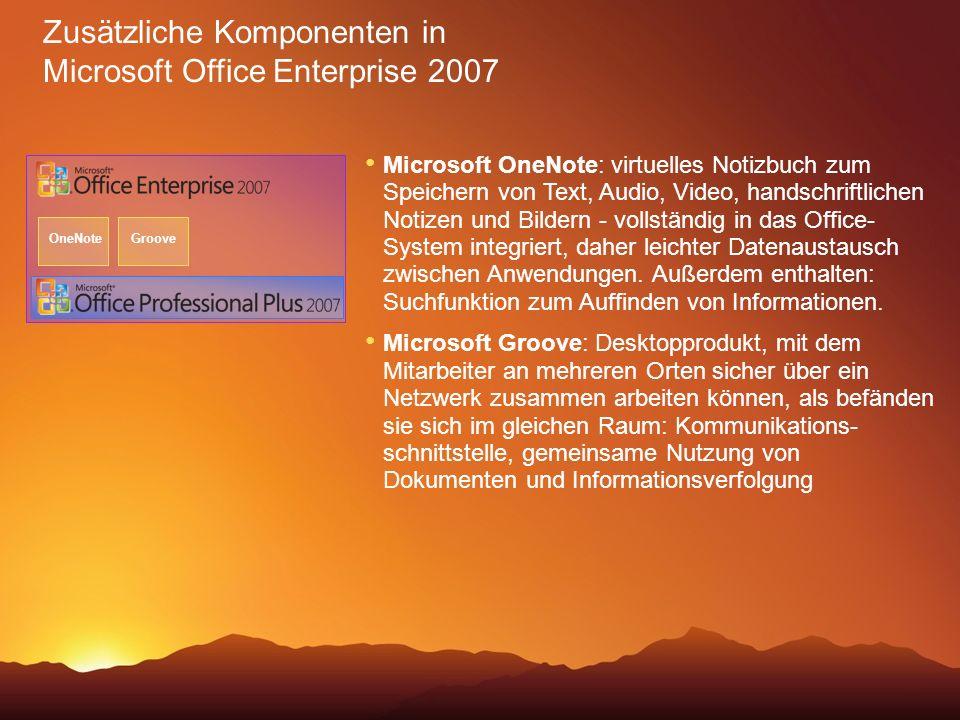 Microsoft OneNote: virtuelles Notizbuch zum Speichern von Text, Audio, Video, handschriftlichen Notizen und Bildern - vollständig in das Office- Syste