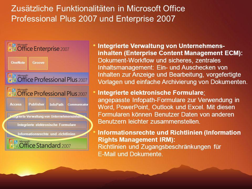 Integrierte Verwaltung von Unternehmens- inhalten (Enterprise Content Management ECM): Dokument-Workflow und sicheres, zentrales Inhaltsmanagement: Ei