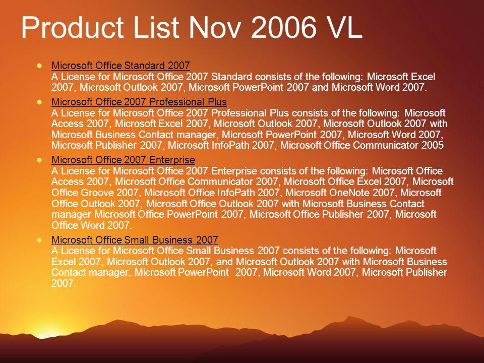 Microsoft Office Standard 2007 Grundlegende Office-Software für Anwender in mittleren und großen Unternehmen, damit sie Aufgaben schneller und einfacher erledigen können.