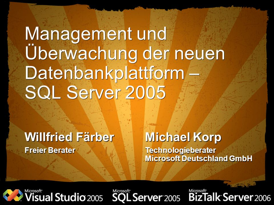 DM_ Objekt Interface SQL Server Relational Engine Operational Memory Structures Aggregate Statistical Data DMVs and DMFs Resource DB Resource DB (sichtbar im sys Schema) SPs, Views, Tables, etc.