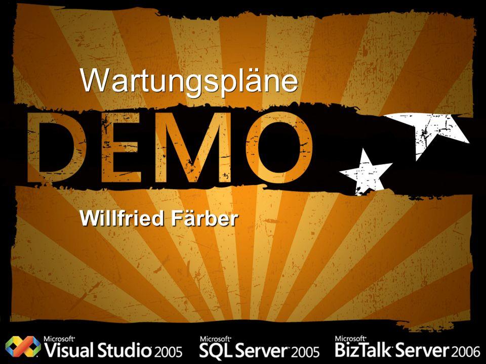 Wartungspläne Willfried Färber