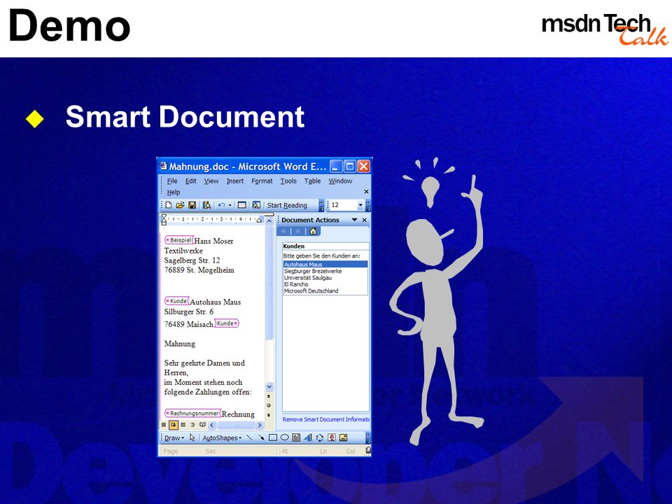 Demo Smart Document