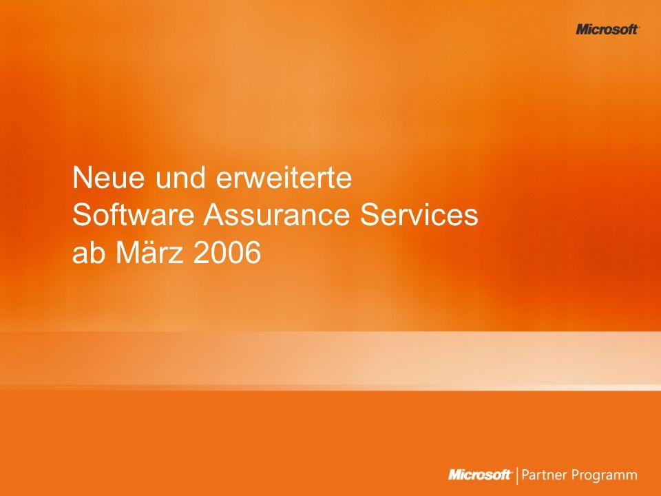 Unterstützung zu Software Assurance durch Supportcenter Das Software Assurance Call Center für Benefit- Administratoren steht Ihnen per Telefon, Email zwischen den Geschäftszeiten von 8:00 – 17:00 Uhr zur Verfügung.