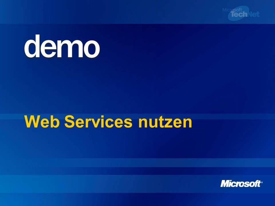 Web Services nutzen