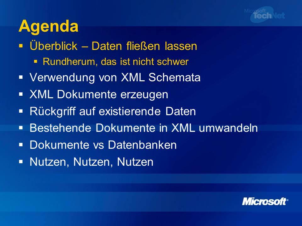 Dokumente vs.Datenbanken.