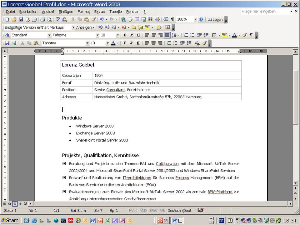 XML Daten in DB transformieren